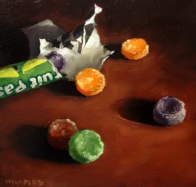 """Fruit Pastilles"" original fine art by Michael Naples"