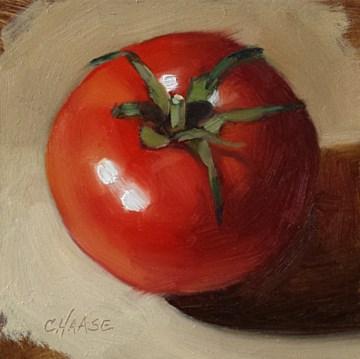 """Tomato Season"" original fine art by Cindy Haase"