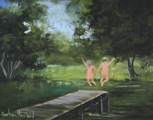 """Life is Good"" original fine art by Barbara Haviland"