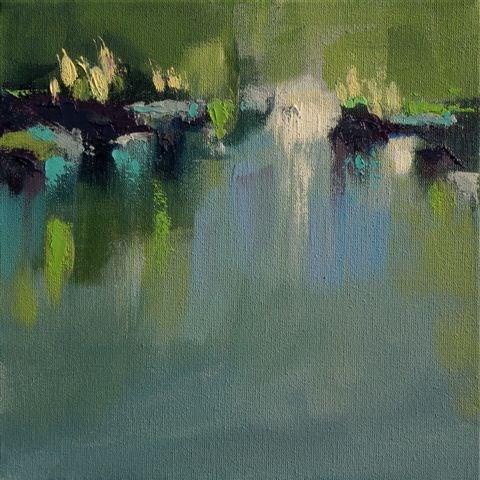 """Landscape 107"" original fine art by Ewa Kunicka"