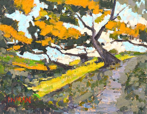 """Torrey Pines, Del Mar Painting"" original fine art by Kevin Inman"