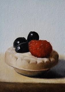 """Petite Pastry"" original fine art by Jonathan Aller"