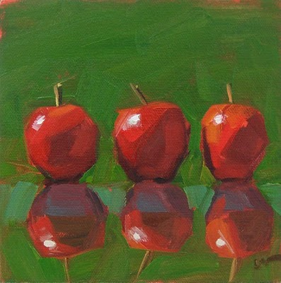 """Practically Six"" original fine art by Carol Marine"