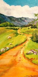 On the Way Up original fine art by Joanne Perez Robinson