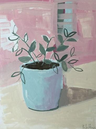 """""""Potted Plant"""" original fine art by Pamela Munger"""