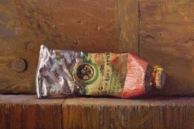 """Paint tube No. 6"" original fine art by Abbey Ryan"