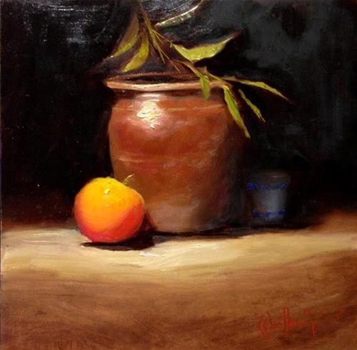 """""""Less Is More"""" original fine art by Dorothy Woolbright"""