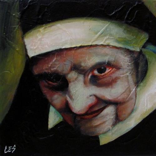 """Confessions"" original fine art by ~ces~ Christine E. S. Code"