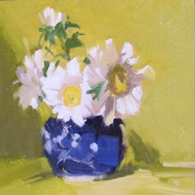 """""""DAISY DAZE"""" original fine art by Helen Cooper"""