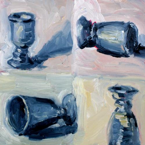 10 minute goblet original fine art by Kristen Dukat